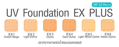 Cezanne UV Foundation EX plus
