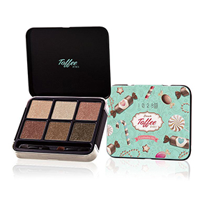 1028 Visual Therapy Toffee Eyeshadow Kit