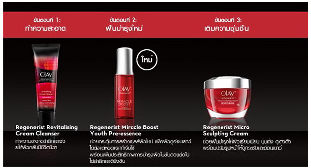 olay regenerist instruction