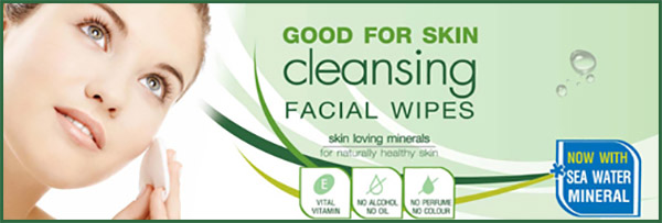 smooth e cleansing wipe