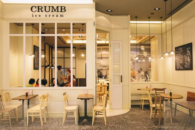 Crumb Ice cream
