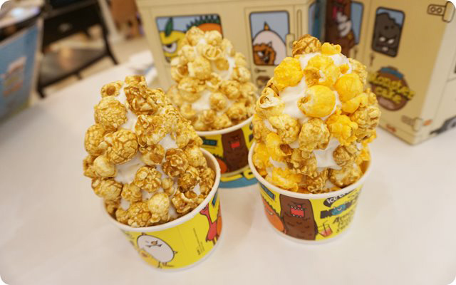 Caramel Monster, Milk monster และ Mix Monster