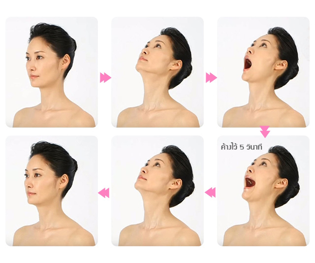 double chin face yoga