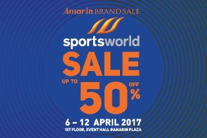 Amarin Brand Sale: Sports World Sale Up To 50%