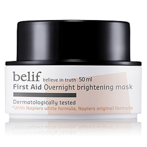 First Aid – Overnight Brightening