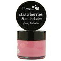 Strawberries & Milkshake glossy lip balm