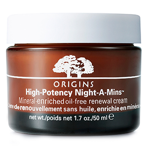 High Potency Night-A-Mins Mineral-enriched oil-free renewal cream