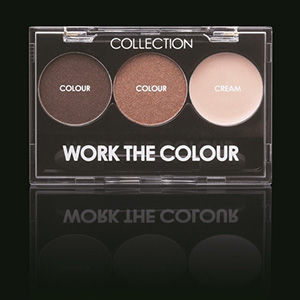 WORK THE COLOUR TRIO EYE SHADOW