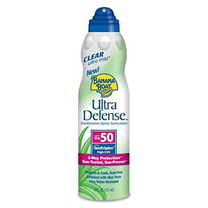 Ultra Defense® UltraMist® Sunscreen SPF 50 Continuous Clear Spray