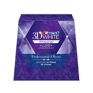 3D White Luxe Professional Effects Whitestrips - Teeth Whitening Kit