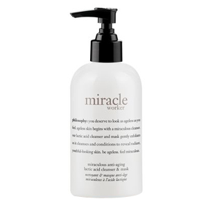 Miracle Worker Miraculous Anti-Aging Lactic Acid Cleanser & Mask