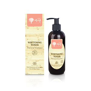 Whitening Toner with edelweiss&cucumber