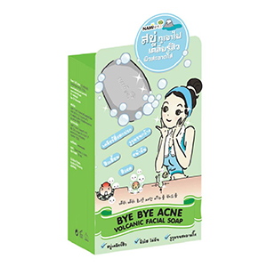 Bye Bye Acne Volcanic Facial Soap