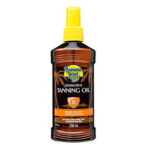 Protective Tanning Oil SPF8