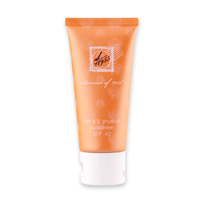 UVA & UVB physical Sunscreen SPF 40