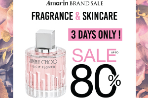 Amarin Brand Sale: Fragrance & Skincare Sale Up To 80%