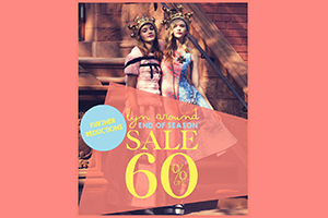 Get ready and go shopping! Lyn Around Sale up to 60% off!