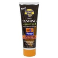 Deep Tanning SPF 8 Lotion with Green Tea