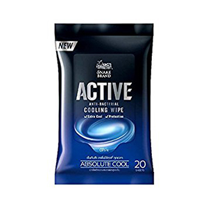 Active Cooling Wipe