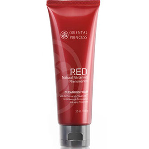 Red Natural Whitening Phenomenon Cleansing Foam