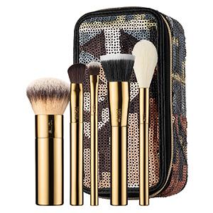 Stroke of Midnight Brush Set & Travel Case