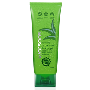 Hydrating after sun body gel