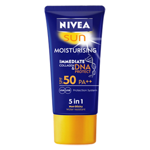 SUN MOISTURISING IMMEDIATE COLLAGEN & DNA PROTECT SPF 50
