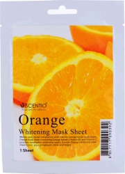 Scentio Orange Whitening Mask Sheet