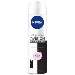 Deo Invisible Black & White Clear Spray