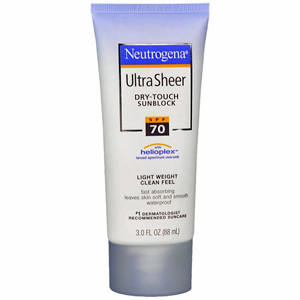 Ultra Sheer Dry-Touch Sunblock SPF 70