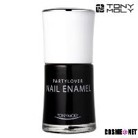Party lover nail enamel BK01 true black