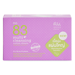 No.83 Multi Cleansing Cotton Sheets