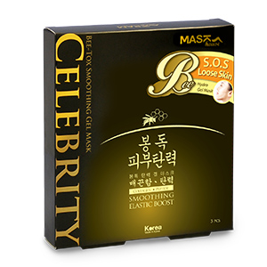 Celebrity Bee-Tox Smoothing Gel Mask