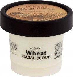 Scentio Wheat Smoothing Facial Scrub