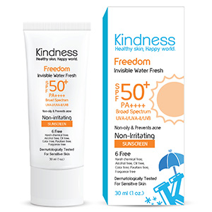 Freedom Invisible Water Fresh SPF50+ PA++++