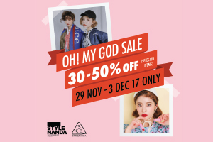 OH! MY GOD!!!!  3CE (SELECTED ITEMS) ลดพิเศษ 30%-50%