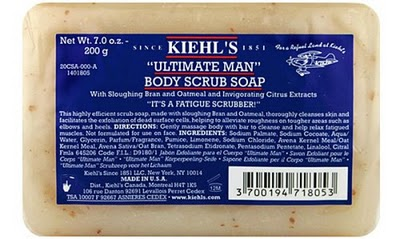 Ultimate Man Body Scrub Soap