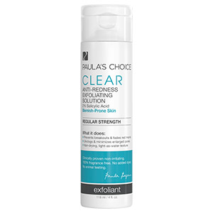 CLEAR Regular Strength Anti Redness Exfoliating Solution