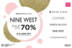 Amarin Brand Sale: Nine West Sale Up To 70%