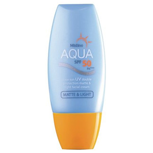 Aqua Base Sun UV Double Protection Matte & Light Facial Cream
