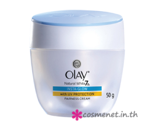 OLAY Natural White Pinkish Fairness Insta-Glow Day Cream with UV Protection