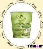 Live Powder Mask Green Tea & Milk