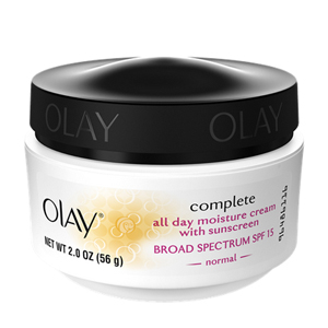 Complete All Day Moisture Cream with Sunscreen Broad Spectrum SPF 15
