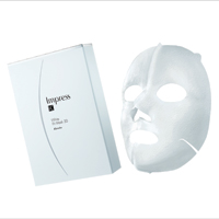 White Fit Mask 3D