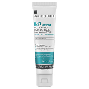 Skin Balancing Ultra-Sheer Daily Defense Broad Spe