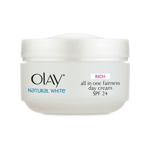 Natural White Rich All in One Fairness Day Cream SPF24
