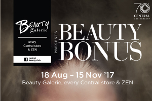 Beauty Galerie presents Beauty Bonus ลดสูงสุด 25%