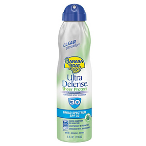 Ultra Defense UltraMist Sunscreen SPF30 Continuous Clear Spray