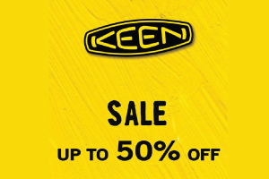 KEEN SALE UP TO 50%
