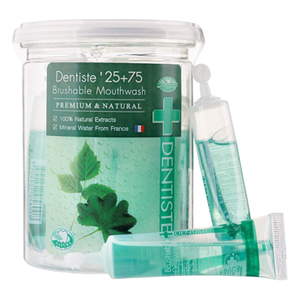 25+75 brushable mouthwash